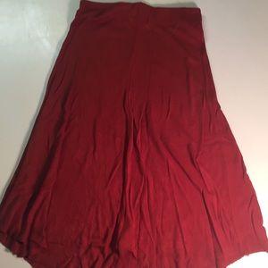 Zara burnt orange skirt!